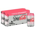 Diet Coke Twisted Strawberry
