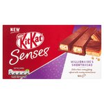 Kit Kat Senses 2 Finger Millionaire's Shortbread Chocolate Biscuits 5 pack