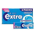 Wrigley's Extra Sugarfree Peppermint Gum