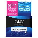 Olay Anti-Wrinkle Instant Hydration Moisturiser Night Cream