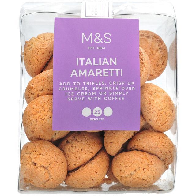 M S Italian Amaretti Biscuits Ocado