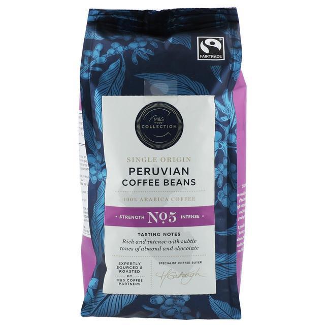 M&S Collection Fairtrade Peruvian Coffee Beans | Ocado