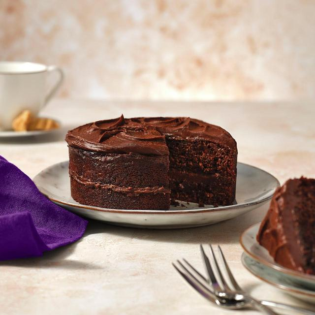 M S Chocolate Fudge Cake Ocado