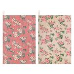 Cath Kidston Set of Two Tea Towels Mayfield Blossom