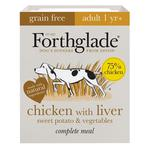 Forthglade Adult Chicken, Liver and veg. Grain free, wet dog food