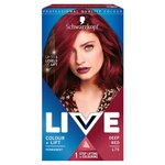 Schwarzkopf Live Colour + Lift L75 Deep Red Permanent Hair Dye