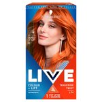 Schwarzkopf Live Colour + Lift L74 Tangerine Twist Permanent Red Hair Dye