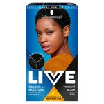 Schwarzkopf Live Colour + Moisture M01 Twilight Black Permanent Hair Dye