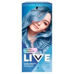 Schwarzkopf Live Pretty Pastels P121 Denim Steel Blue Semi-Perm Hair Dye
