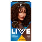 Schwarzkopf Live Colour + Moisture M06 Cocoa Crush Brown Permnent Hair Dye