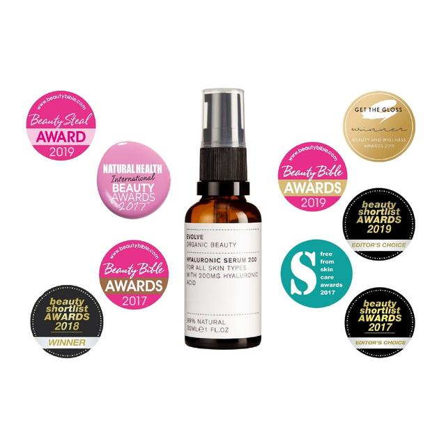 Hyaluronic Serum 200 by Evolve Organic Beauty #18