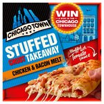 Chicago Town Takeaway Large Stuffed Crust Chicken and Bacon Pizza