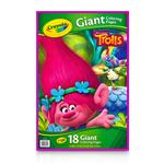 Crayola Trolls Giant Colouring Pages