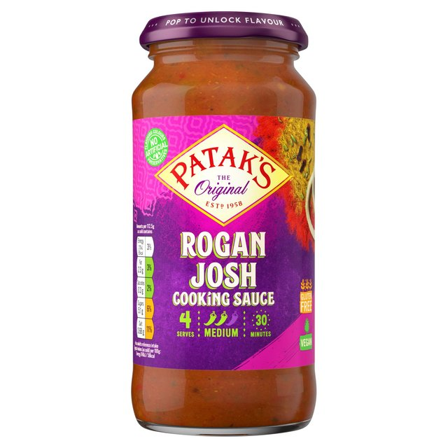 Patak's Rogan Josh 450g from Ocado