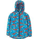 Frugi Waterproof Packaway Jacket Dragons