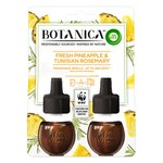 Airwick Botanica Electrical Twin Refill Pineapple & Tunisian Rosemary