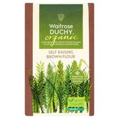 Waitrose Duchy Organic Brown Self Raising Flour
