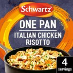 Schwartz Italian Chicken & Mushroom Risotto One Pan