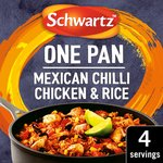 Schwartz Mexican Chilli Chicken & Rice One Pan
