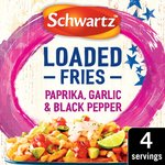 Schwartz Paprika, Garlic & Black Pepper Loaded Fries Seasoning