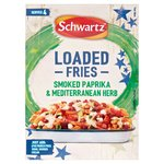 Schwartz Mediterranean Herb & Smoked Paprika Loaded Fries Seasoning