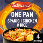 Schwartz Spanish Chicken & Rice One Pan