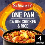 Schwartz Cajun Chicken & Rice One Pan