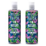 Faith in Nature Duo Lavender & Geranium Body Wash