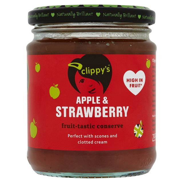 Clippy's Apple & Strawberry Jam