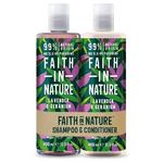 Faith in Nature Duo Lavender & Geranium Shampoo & Conditioner