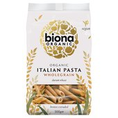 Biona Organic Bronze-Extruded Wholewheat Penne