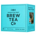 Brew Tea Co Moroccan Mint Tea Bags 100g