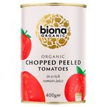 Biona Organic Chopped Peeled Tomatoes