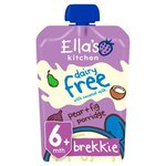 Ella's Kitchen Organic Dairy Free Pear & Fig Porridge 6 months+
