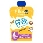 Ella's Kitchen Dairy Free Banana, Apples & Coconut Yoghurt 6 months+