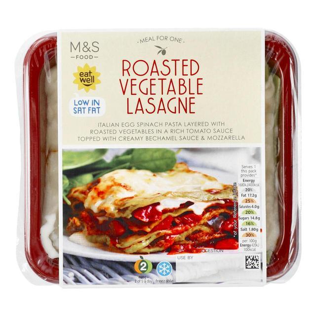 M S Roasted Vegetable Lasagne Ocado