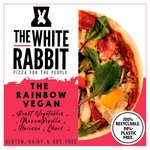White Rabbit Pizza The Rainbow Vegan Gluten Free Pizza