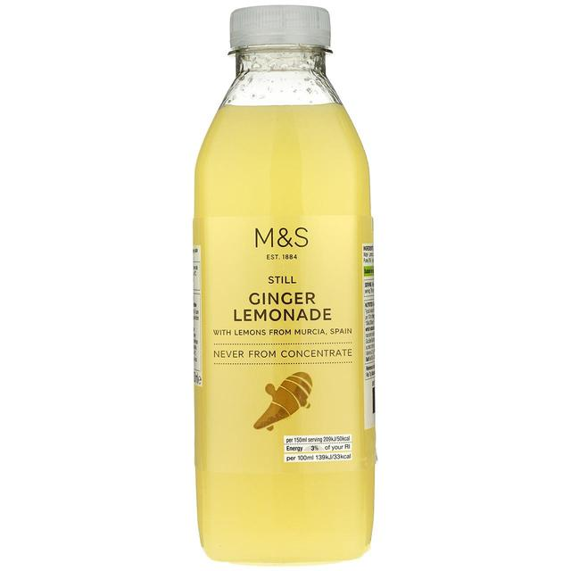 M S Still Ginger Lemonade Ocado