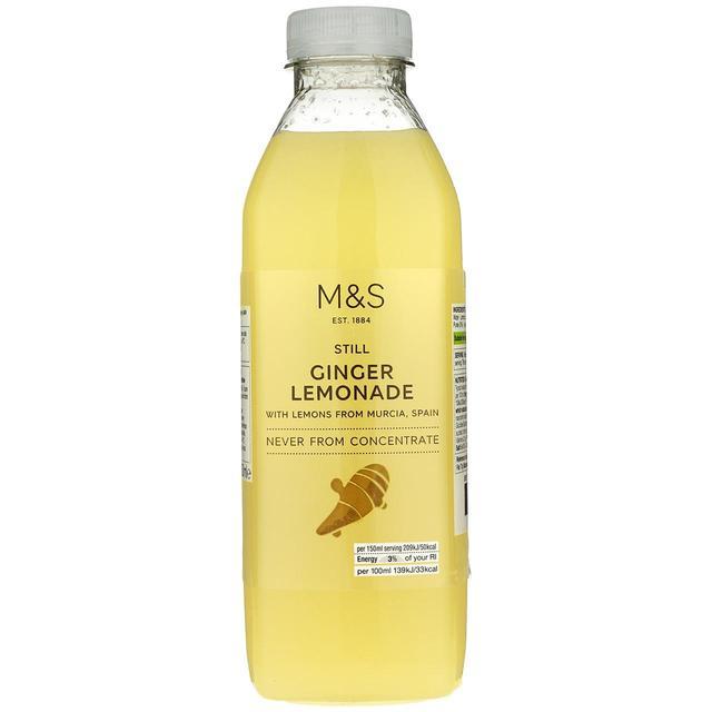 M S Still Ginger Lemonade Ocado