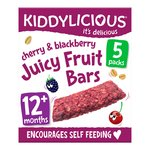 Kiddylicious Cherry & Blackberry Juicy Fruit Bar