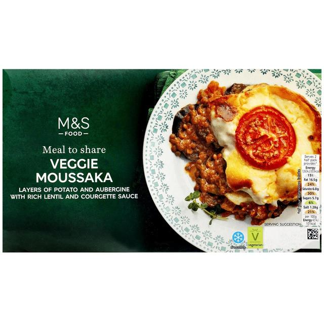 M S Vegetable Moussaka Ocado