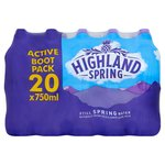 Highland Spring 750ml Sports Bootpack