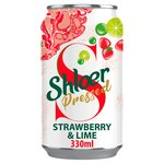 Shloer Pressed Strawberry & Lime Can