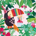 Party Toucan Birthday Card