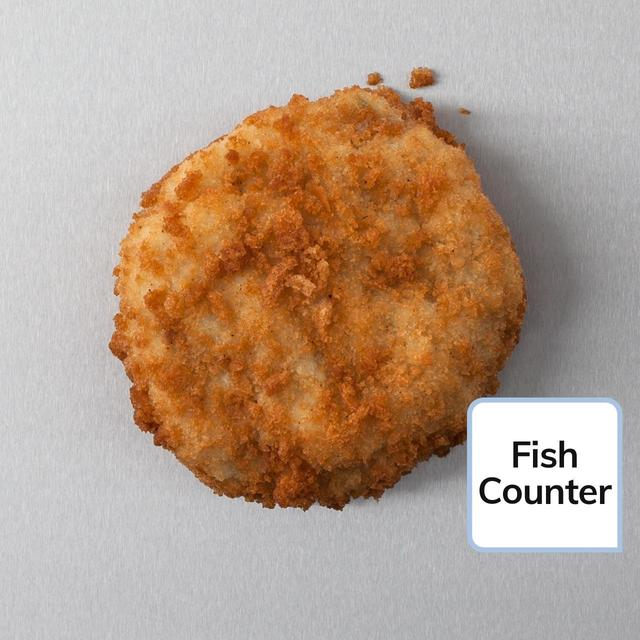 Waitrose freshly breaded cod fishcake typically 120g from for How to make cod fish cakes