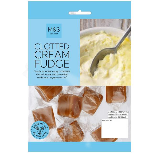 M S Cornish Clotted Cream Fudge Ocado