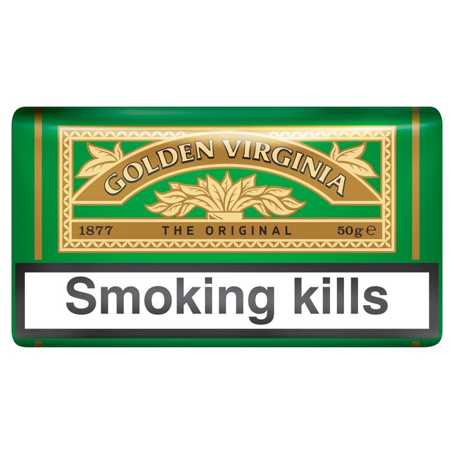 golden virginia hand rolling tobacco: