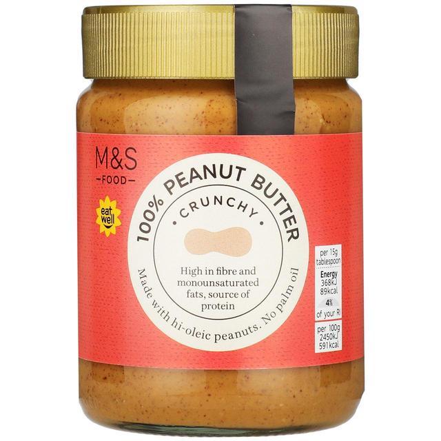 M&S 100% Crunchy Peanut Butter | Ocado