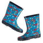 Frugi Boys Rubber Wellington Boots Dragons