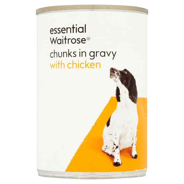 Chunks in Gravy with Chicken essential Waitrose